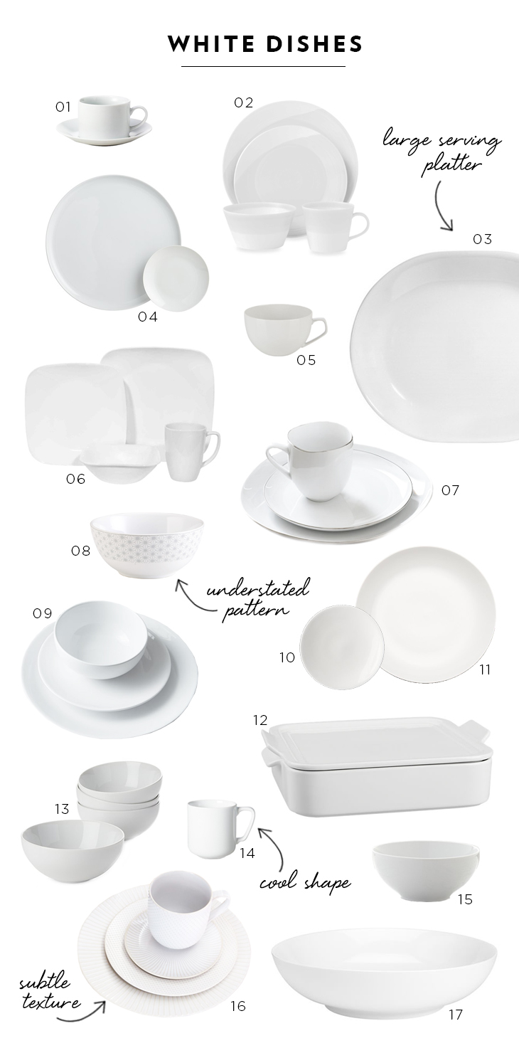 Favorite White Dishes