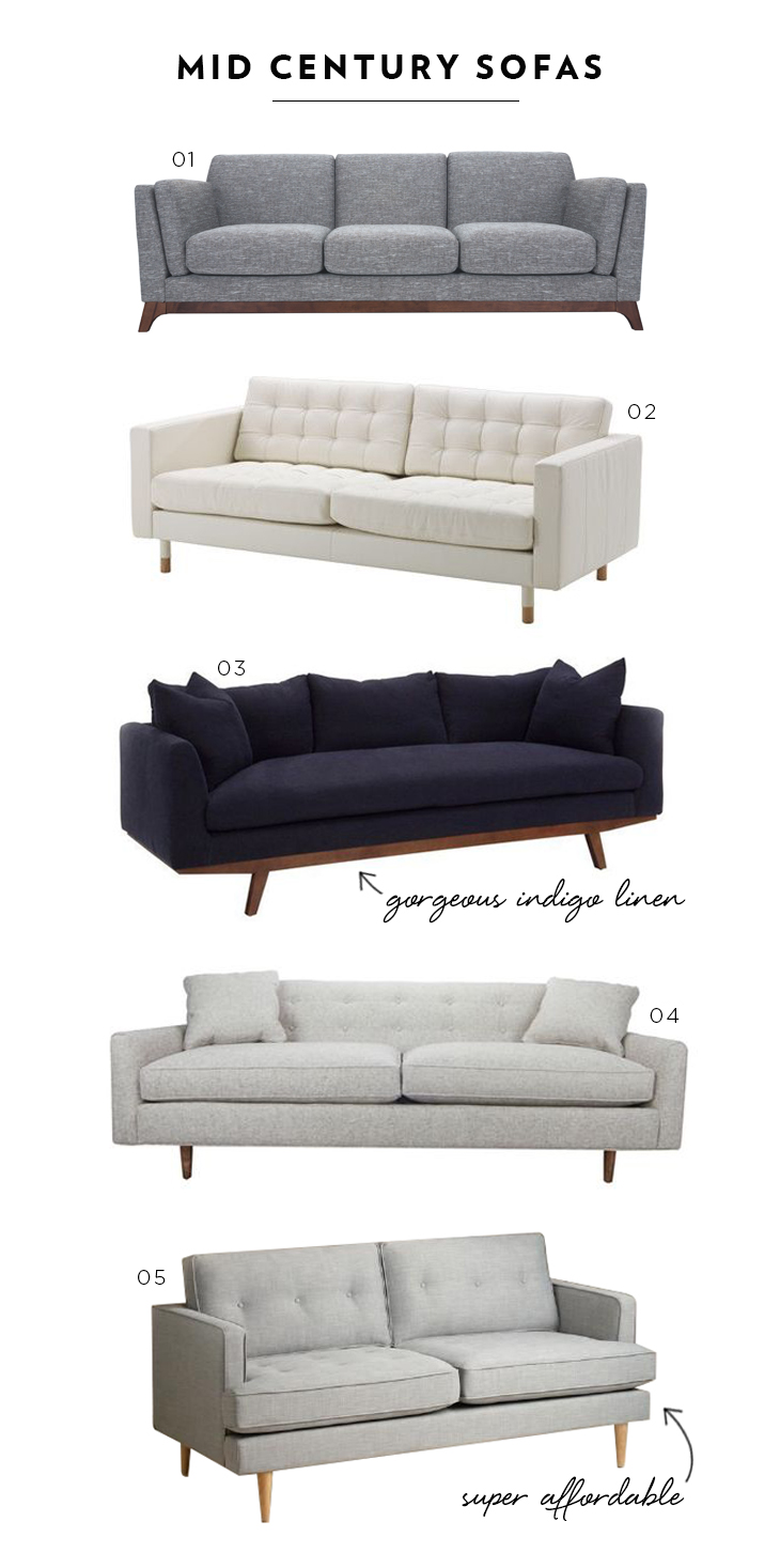 Favorite Sofas Of Every Style Room For Tuesday