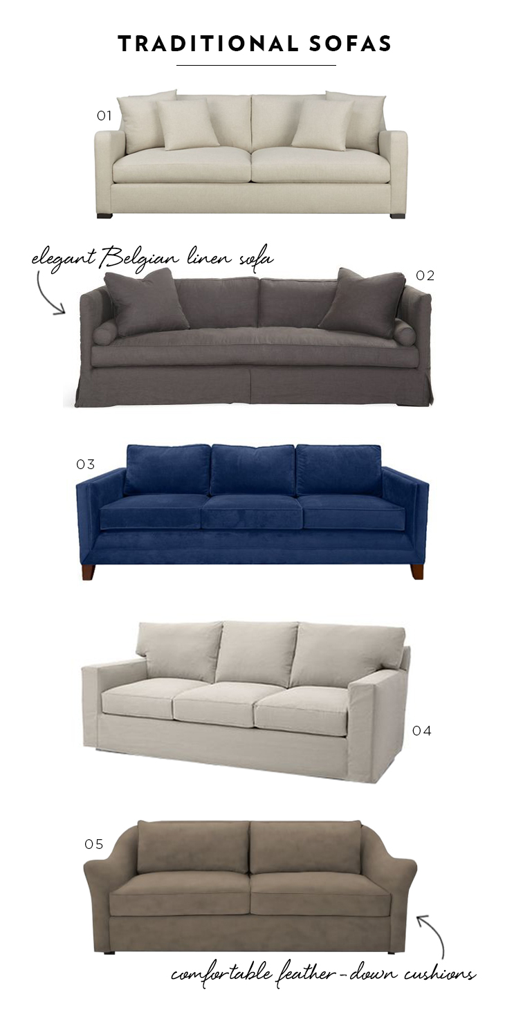 Favorite Traditional Sofas