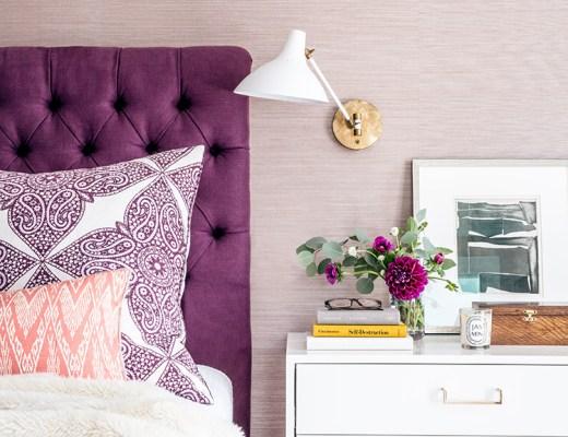 Lavender Purple Bedroom