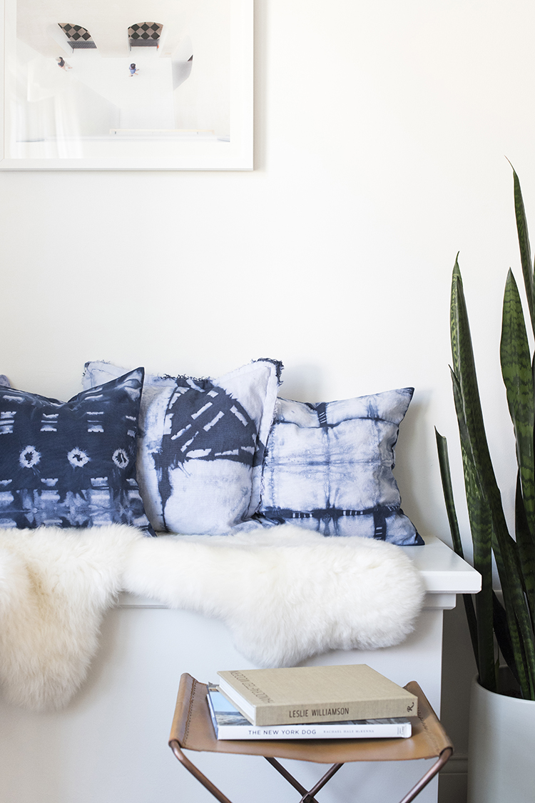 Shibori Pillow DIY
