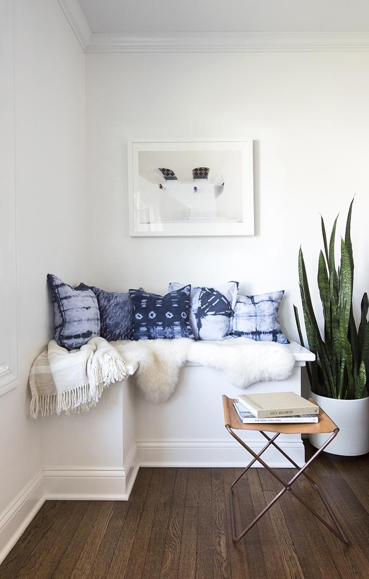 Shibori Pillow DIY