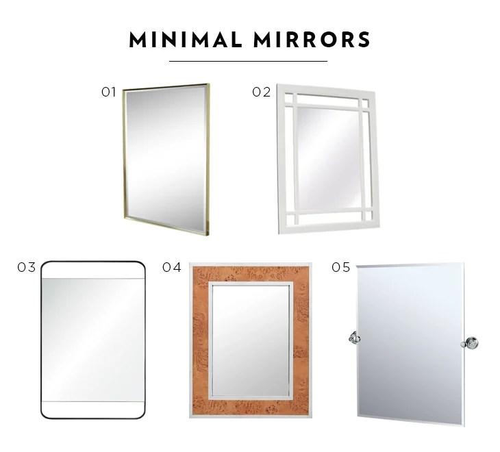 minimal mirrors
