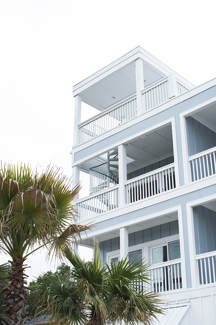Beach House with Spiral Staircase