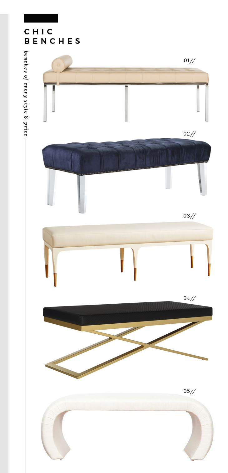 Chic Benches