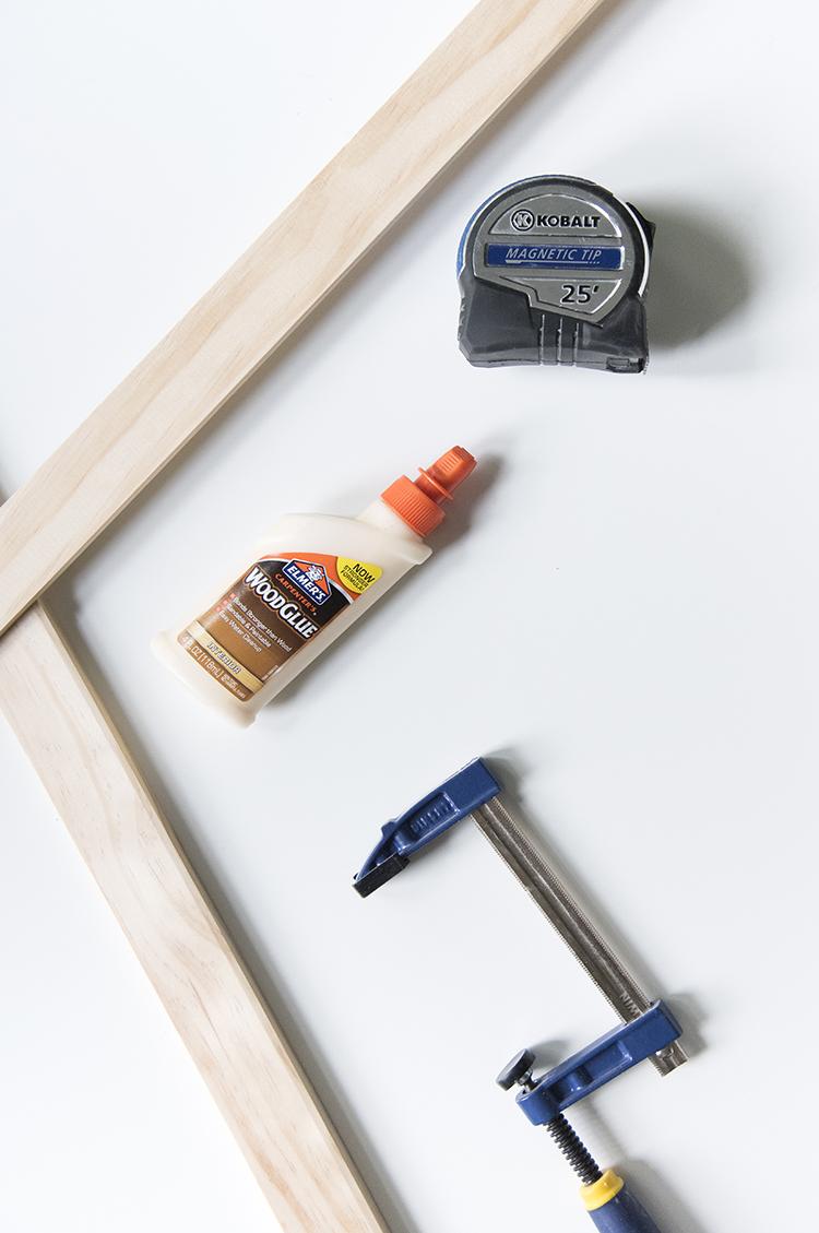 DIY Frame Materials