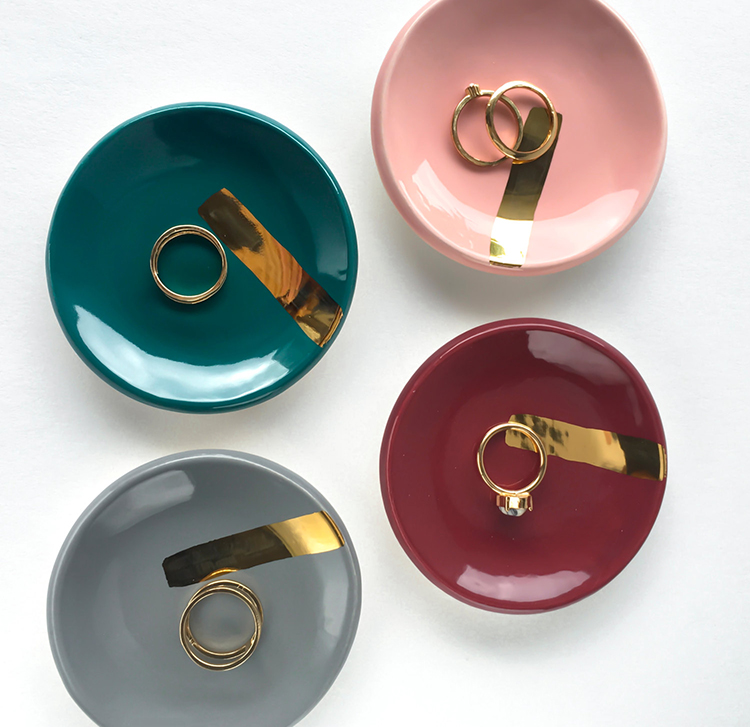 Abstract Ring Dishes