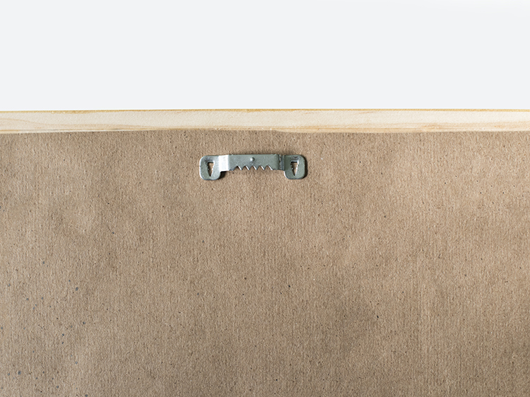 DIY Floating Frame Mounting Hardware - Room For Tuesday