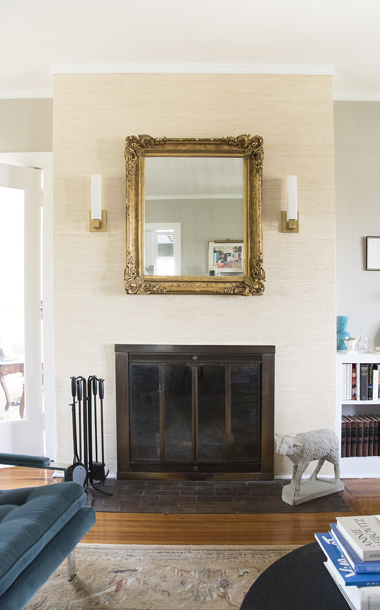 Glam Fireplace