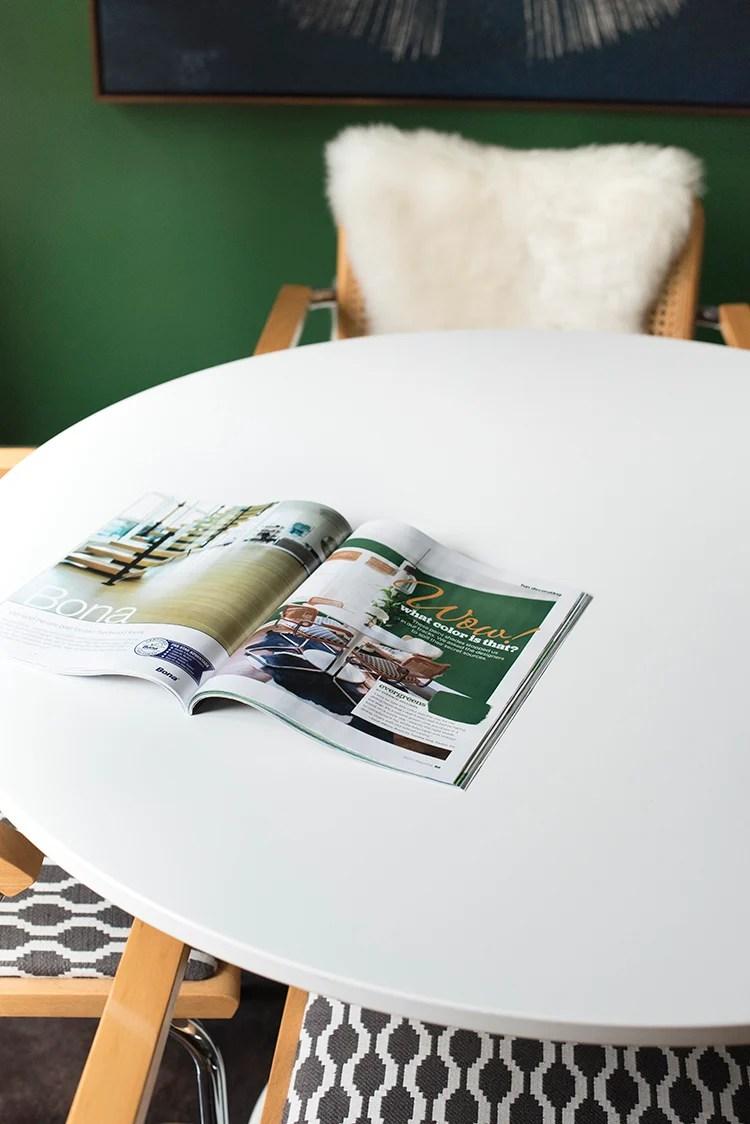Dining Room Magazine Feature