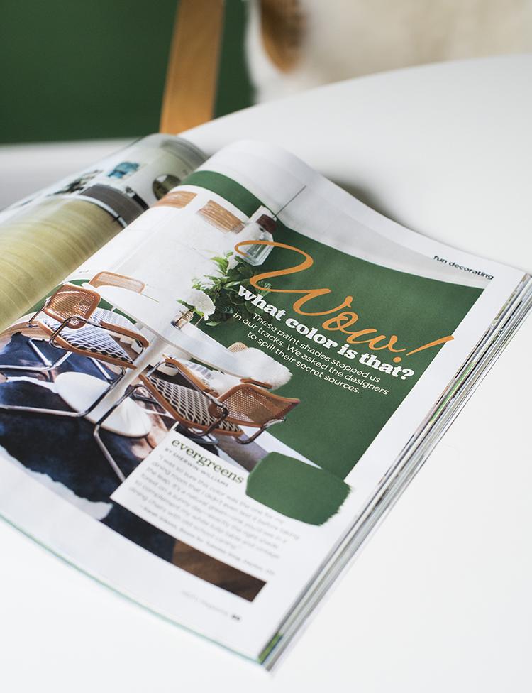 HGTV Magazine Feature