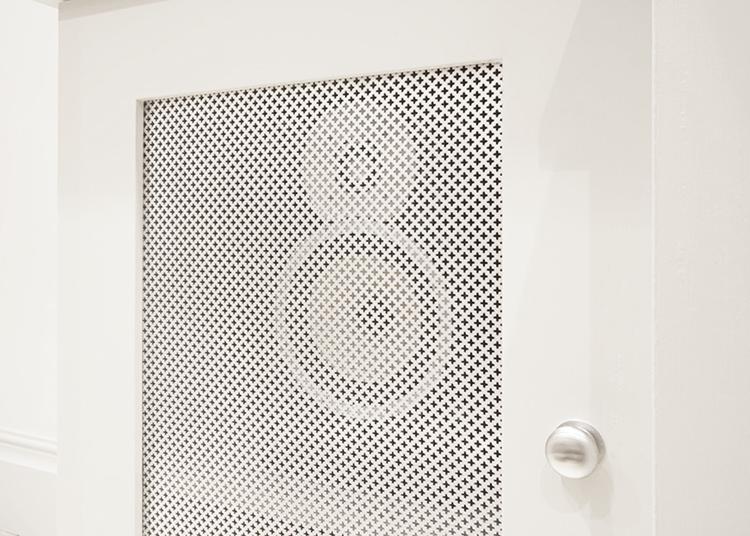 Mesh Speaker Door