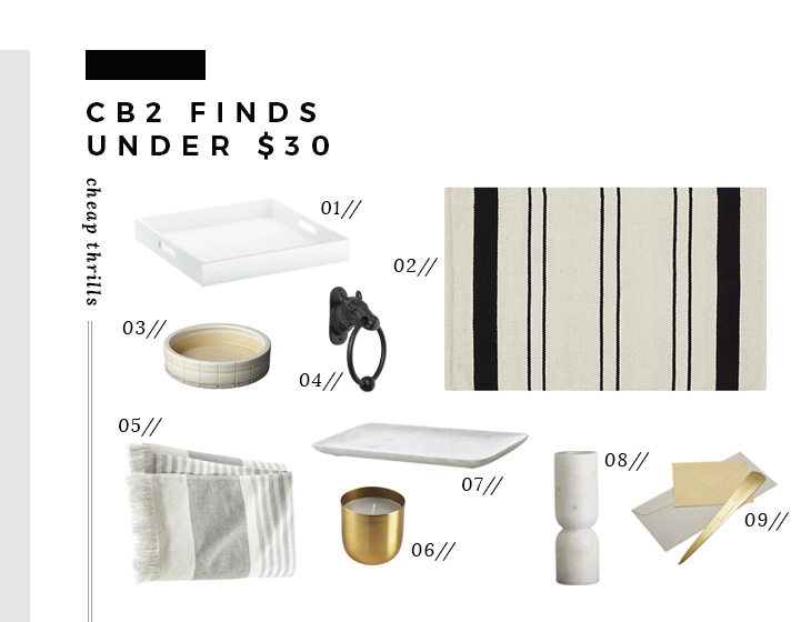 cb2-finds-under-30