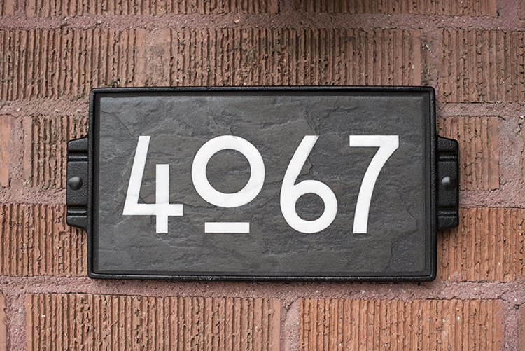 How To Choose House Numbers