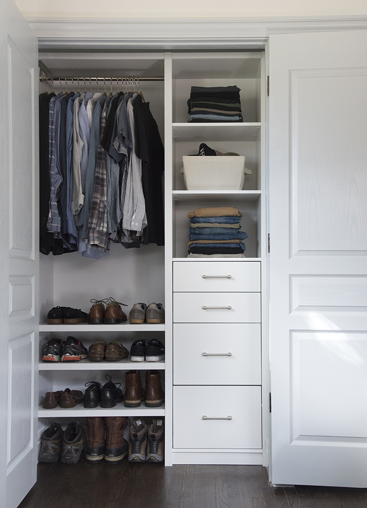 ClosetMaid Custom Closet for Him