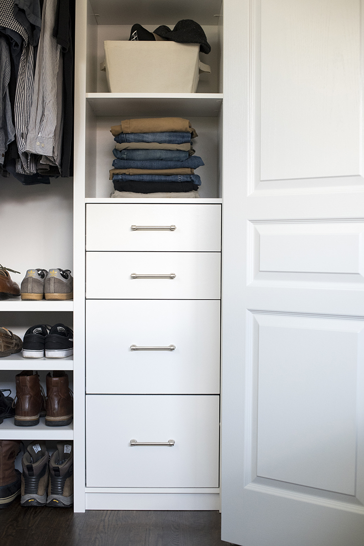 ClosetMaid System for Him