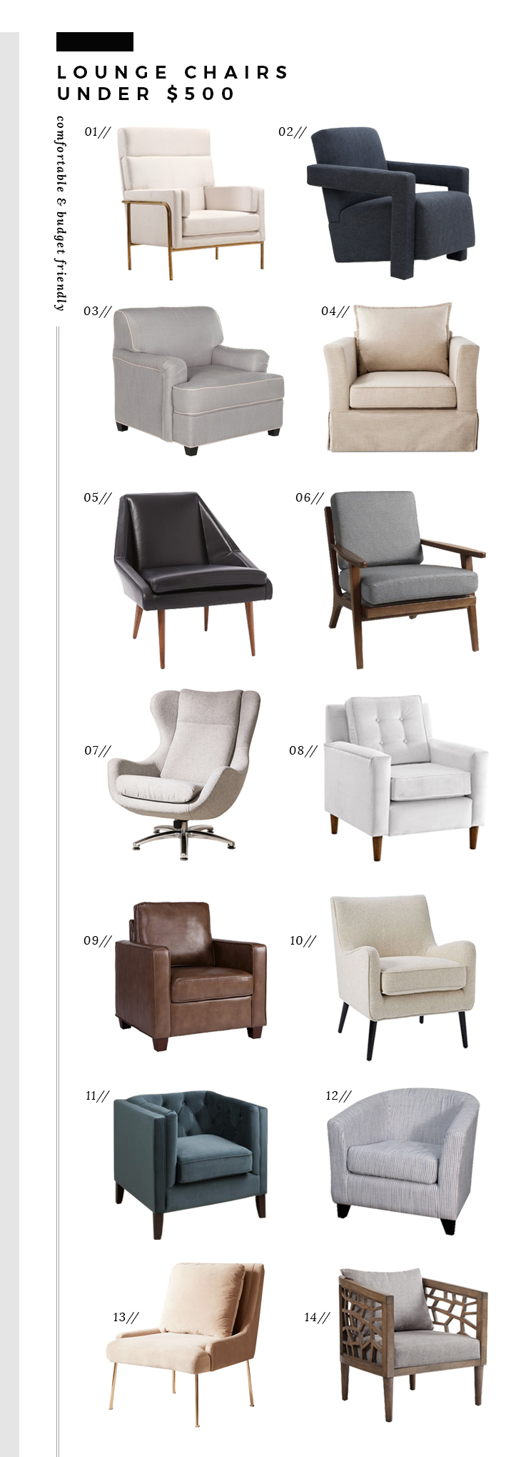 Lounge Chairs Under $500