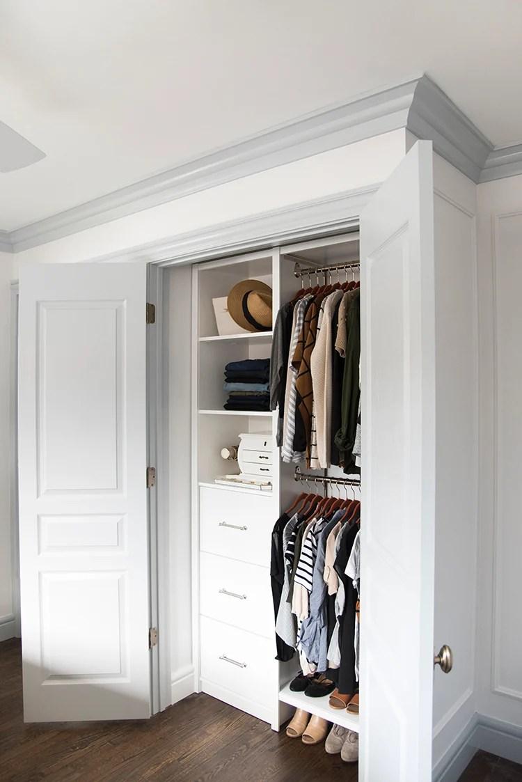 Custom Organized Closet