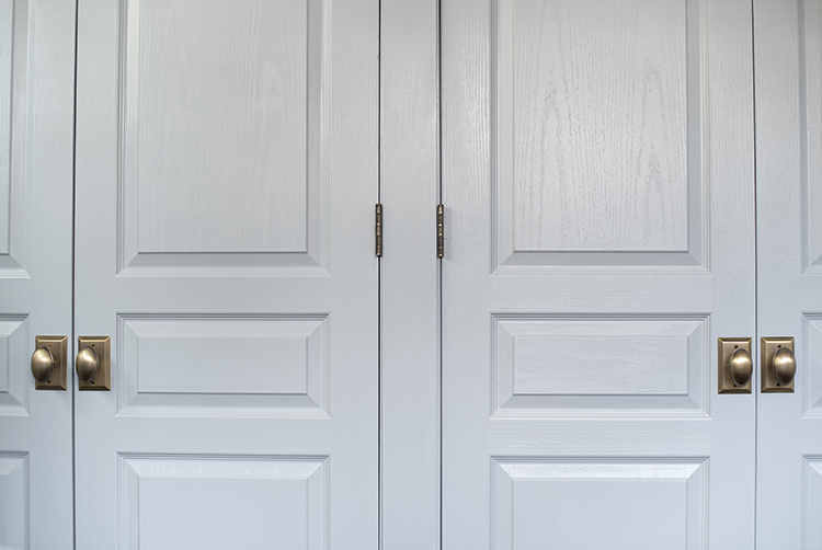 Light Blue French Doors