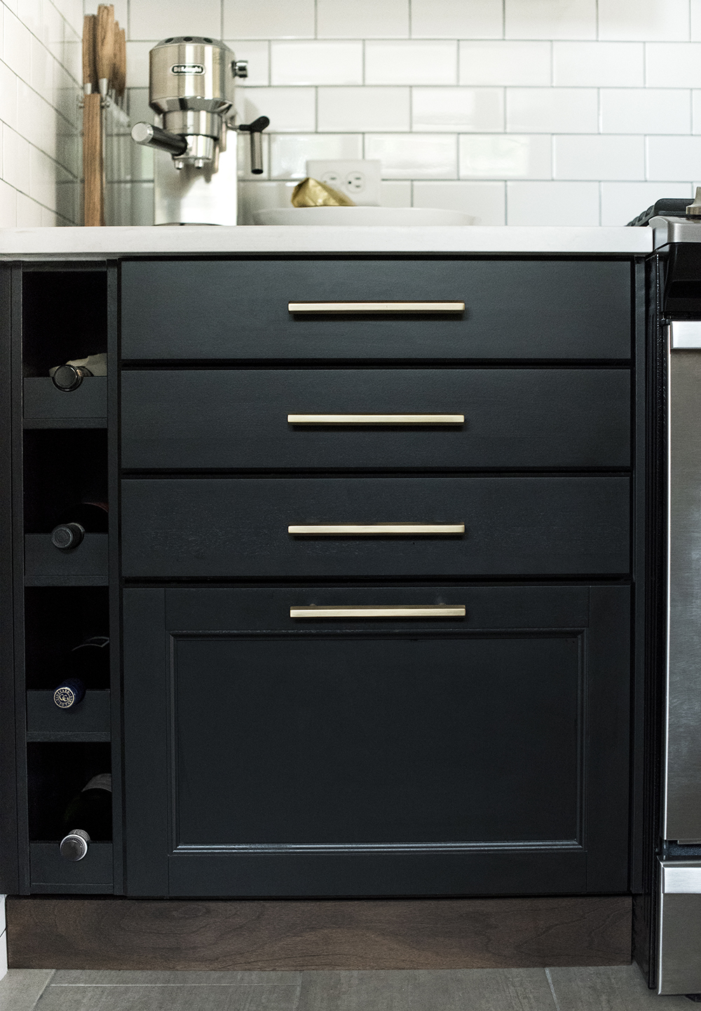 Client Project : A Tuxedo Kitchen - Room for Tuesday Blog