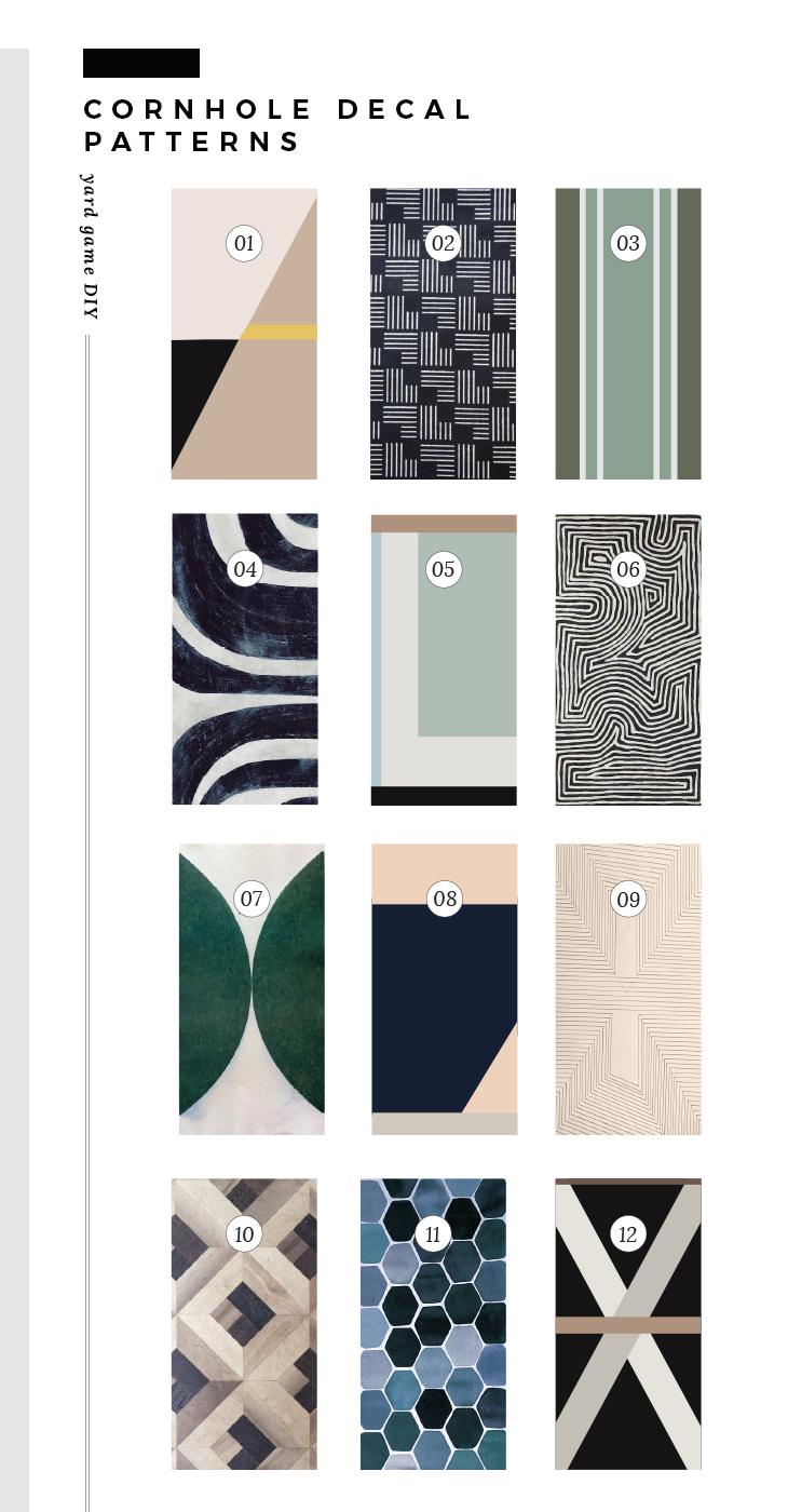 Custom Cornhole Patterns