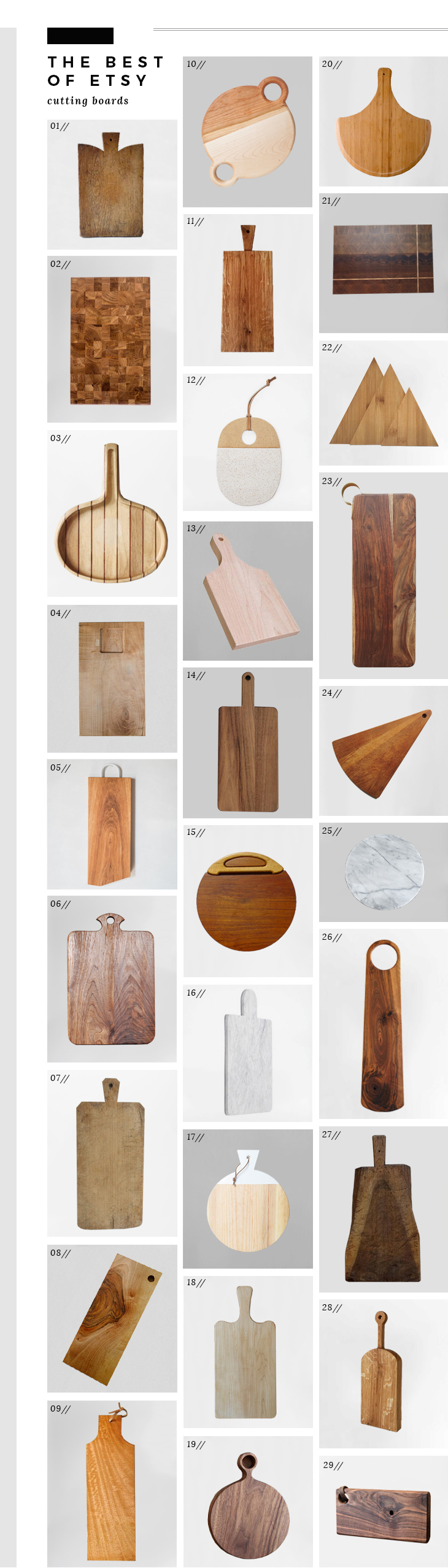 Best of Etsy - Cutting Boards