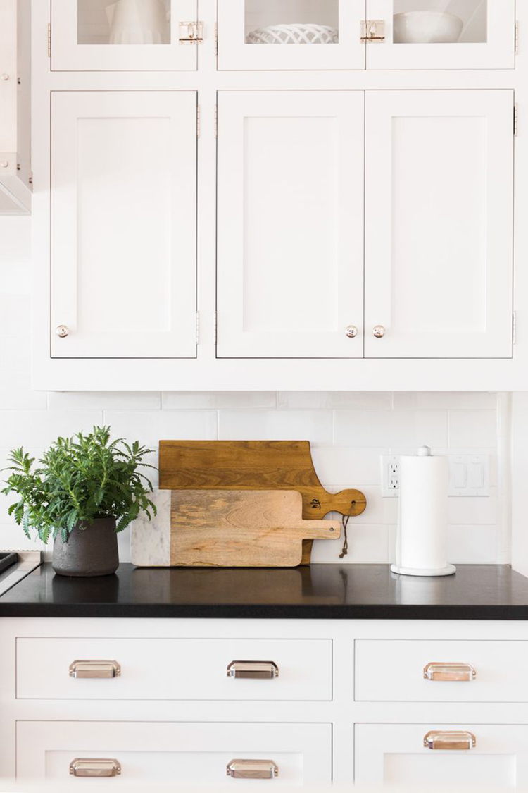 Cutting Boards on Countertop