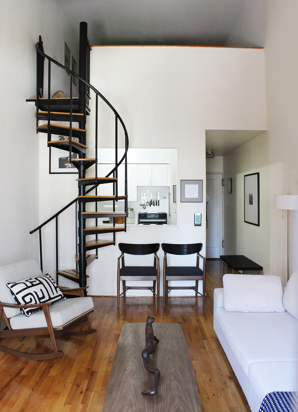 Space Saving Staircases - Room for Tuesday Blog
