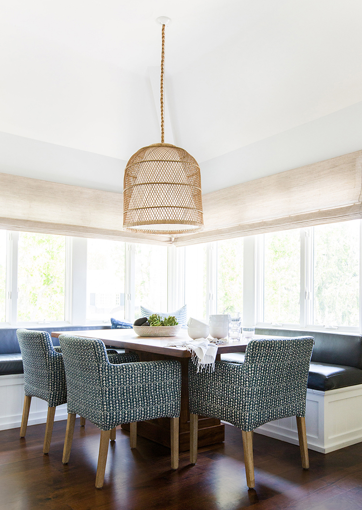 Woven And Wicker Lighting