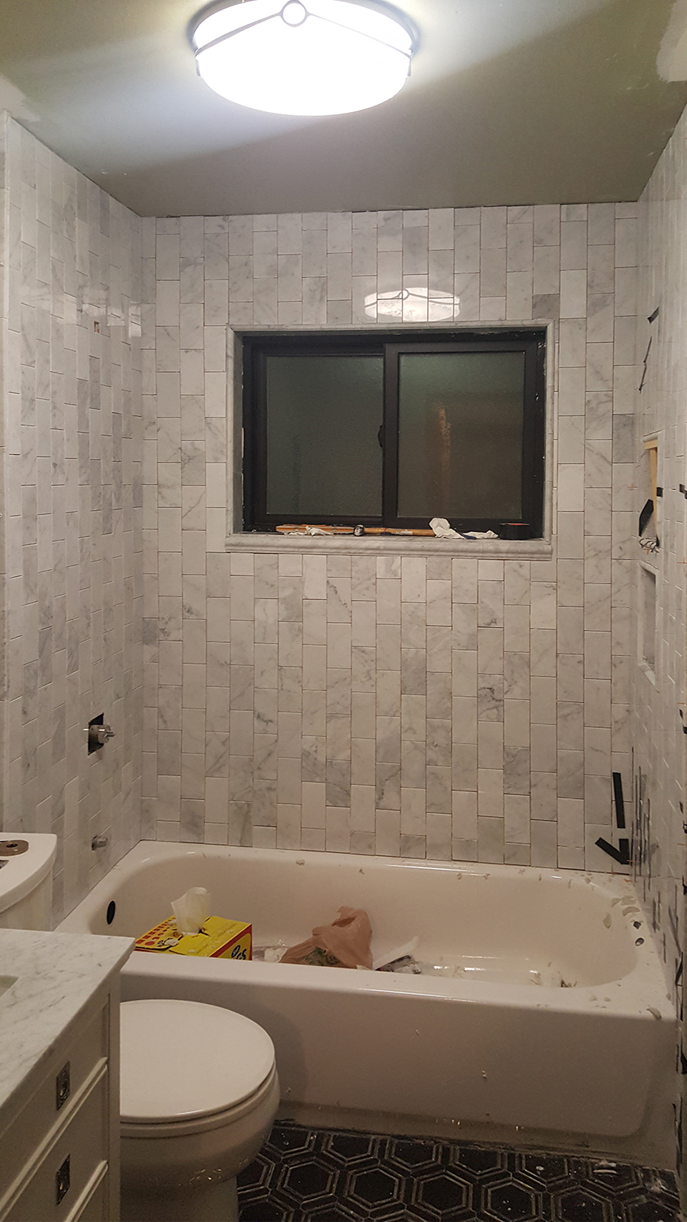 Tile Before Grouting