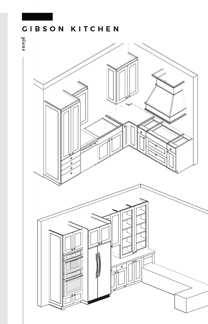 Gibson Kitchen Plans