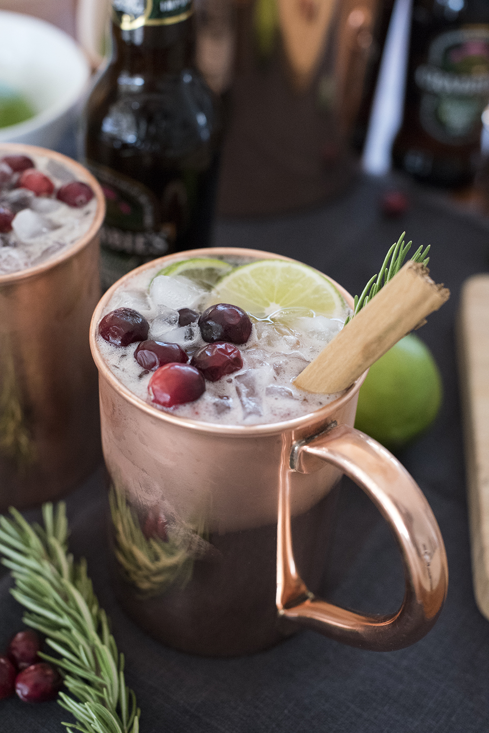 Holiday Moscow Mule - roomfortuesday.com