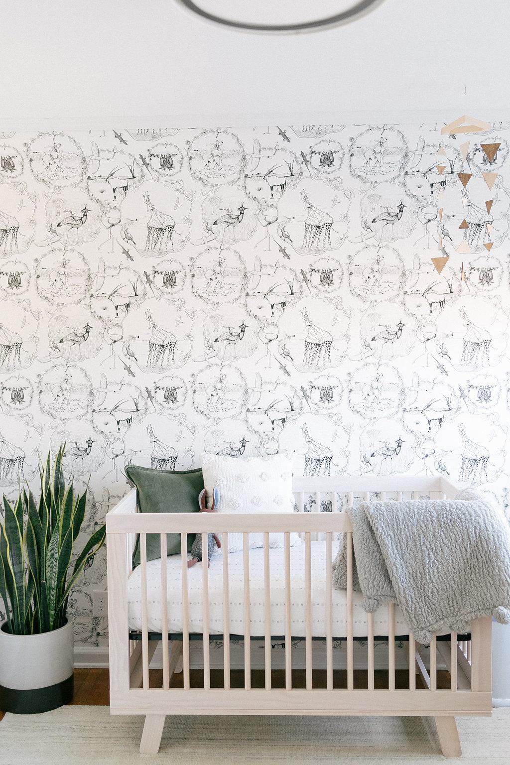 whimsical neutral nursery