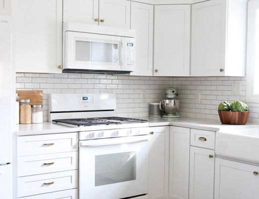Tips for Surviving a Live-In Kitchen Reno - roomfortuesday.com
