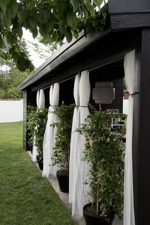 Our Carport Makeover - roomfortuesday.com