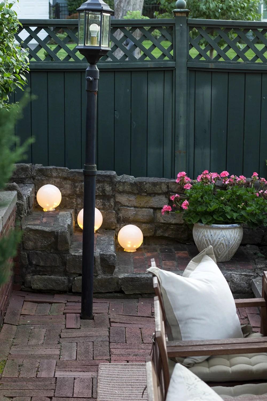 easy diy outdoor globe lights room