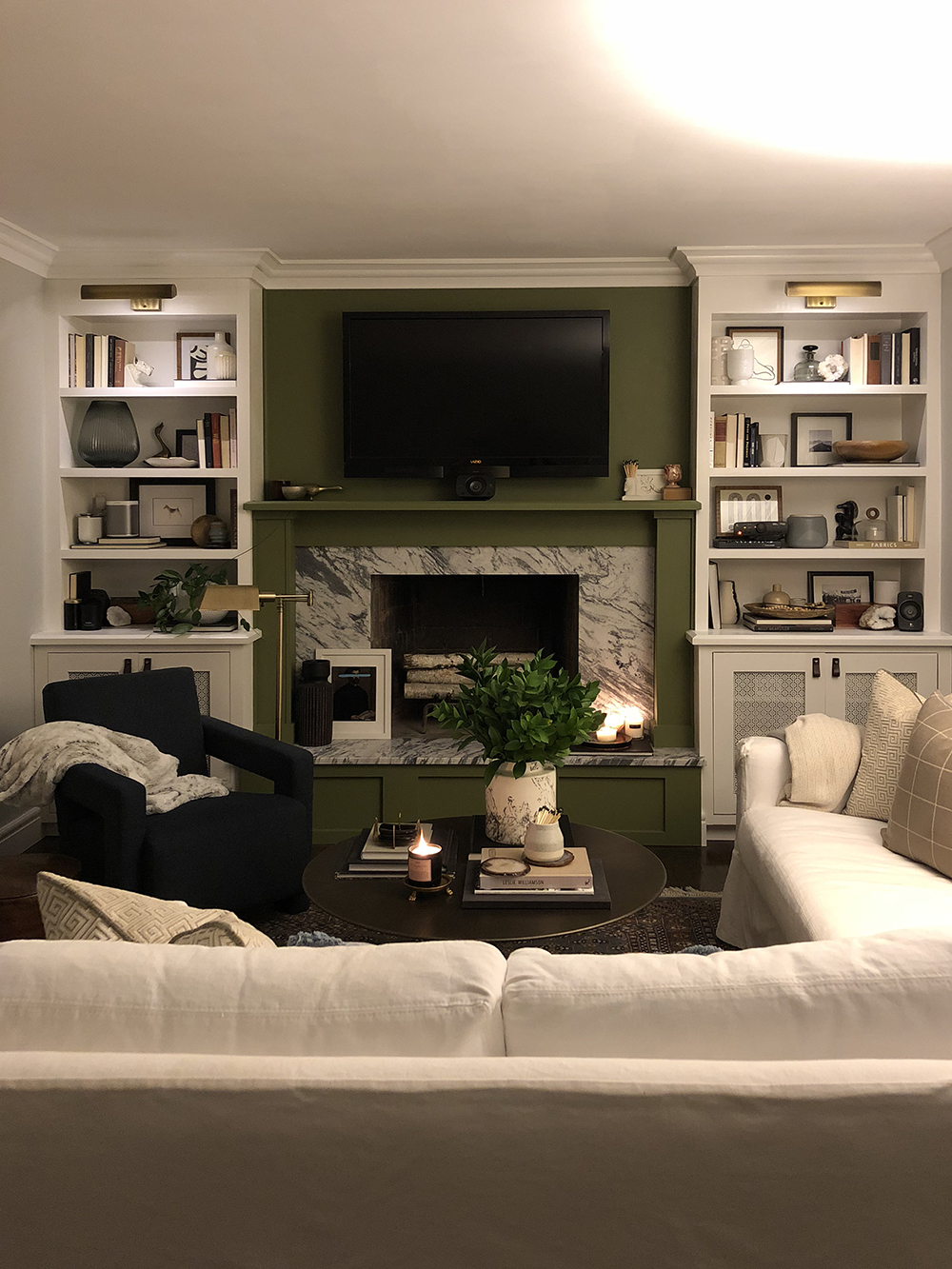 After Dark Home Tour - roomfortuesday.com