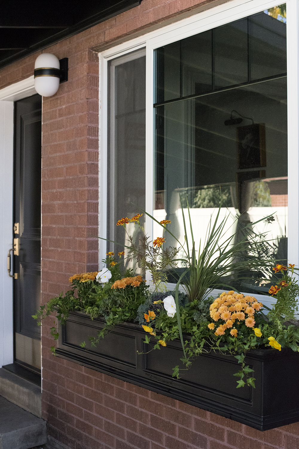 Fall Window Flower Planter Box Room For Tuesday