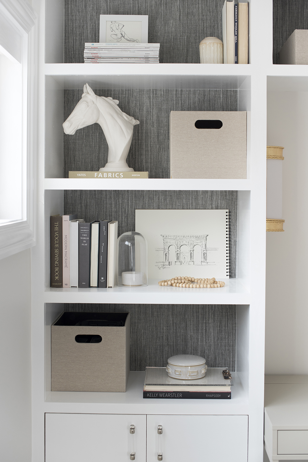 Diy Built Ins And Office Organization Room For Tuesday