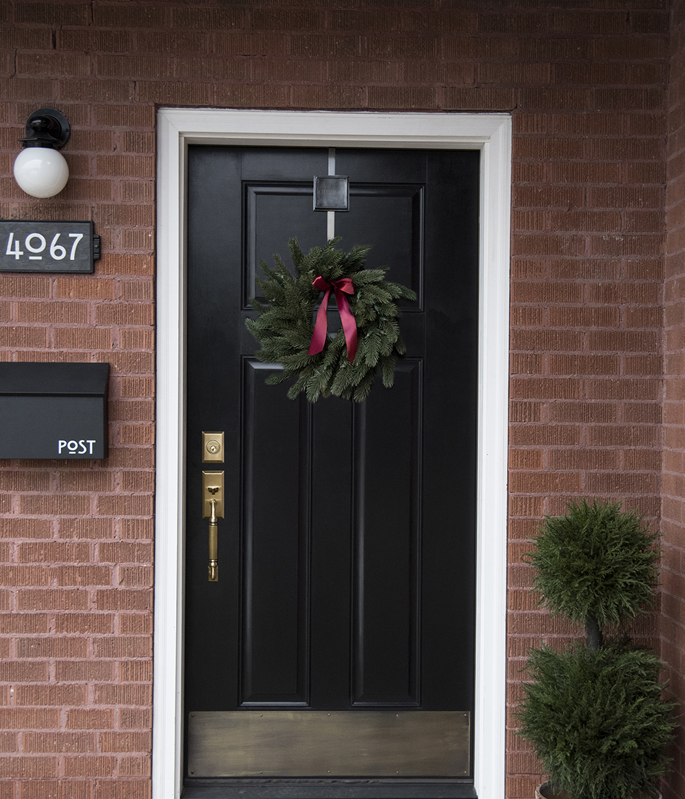 6 Ways to Style Your Front Door This Holiday Season Room