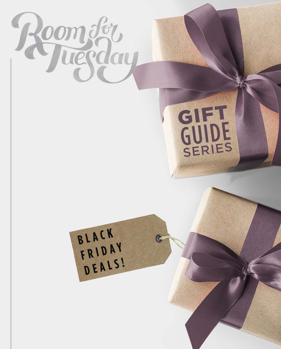 Holiday Gift Guide: Part 2 - Black Friday Deals! roomfortuesday.com