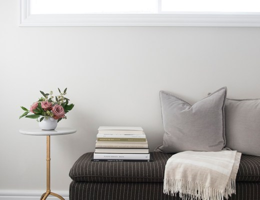 6 Ways to Style a Bench - roomfortuesday.com