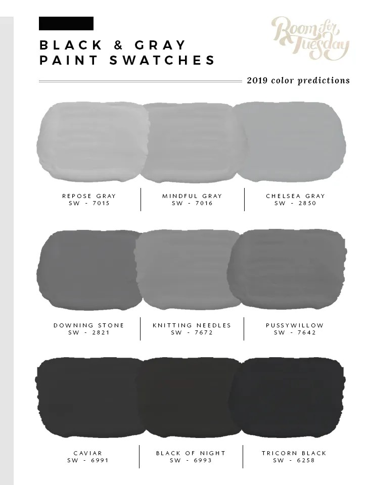 Predicted Paint Colors for 2019 - roomfortuesday.com
