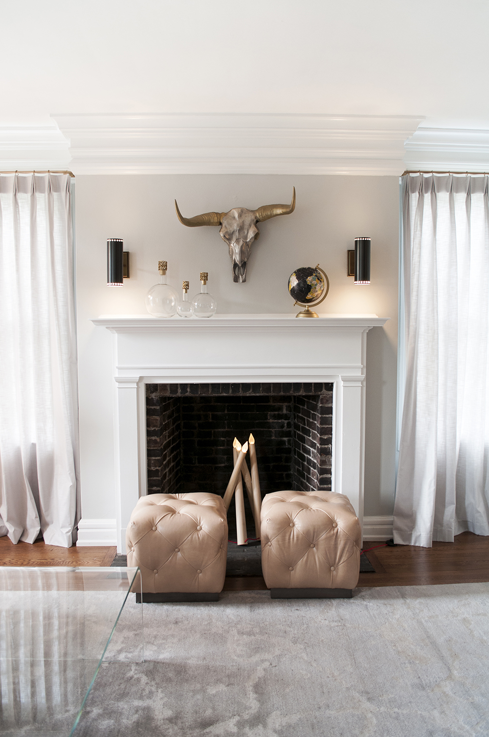 6 Ways to Style a Fireplace Mantle - roomfortuesday.com