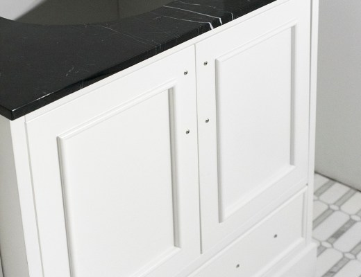 Ways to Customize a Readymade Bathroom Vanity - roomfortuesday.com