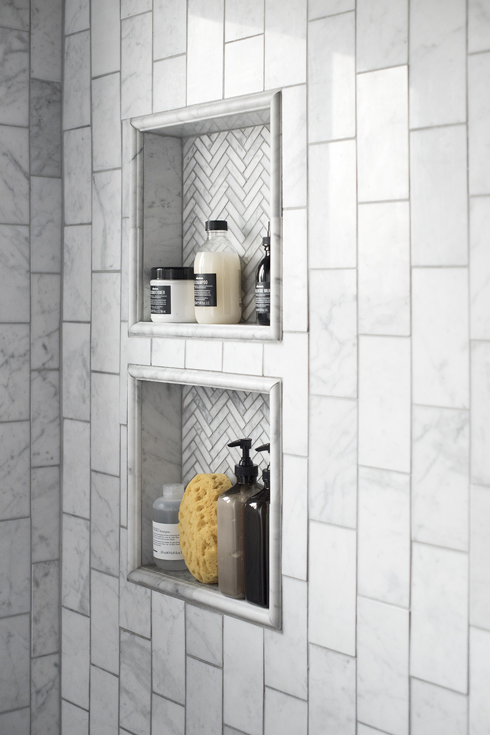 How to Plan and Design a Shower Niche - Room for Tuesday