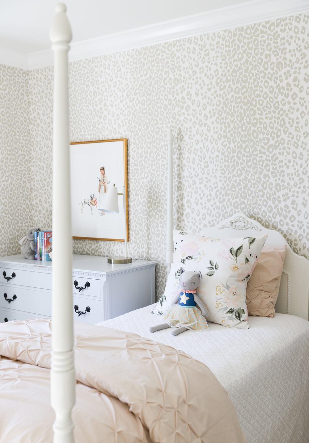 March Moodboard : Light & Bright Animal Print - roomfortuesday.com