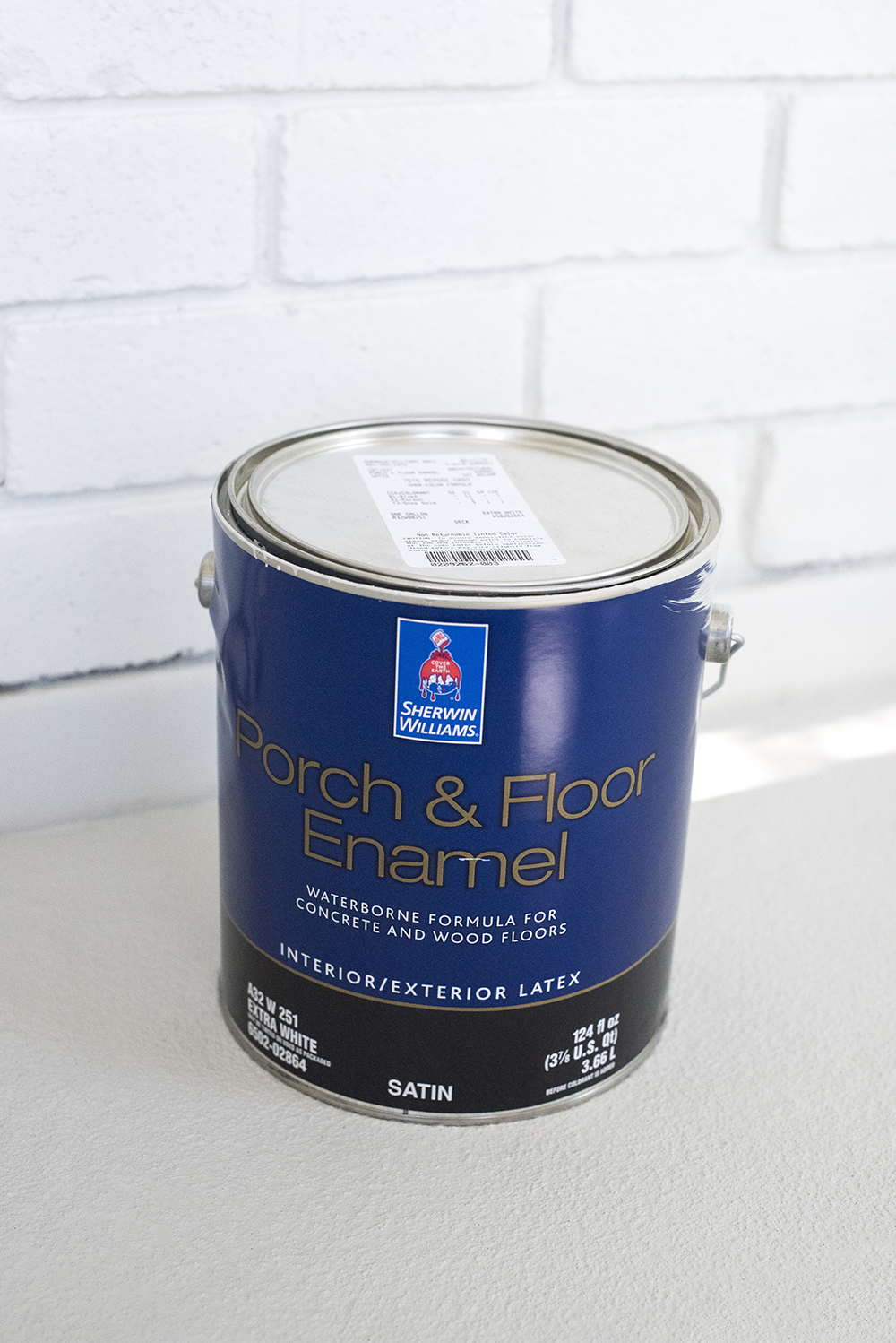 How to Paint Exterior Brick - Room for Tuesday Blog