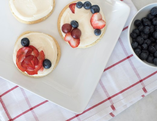 Mini Fruit (Pizza) Cookies - roomfortuesday.com