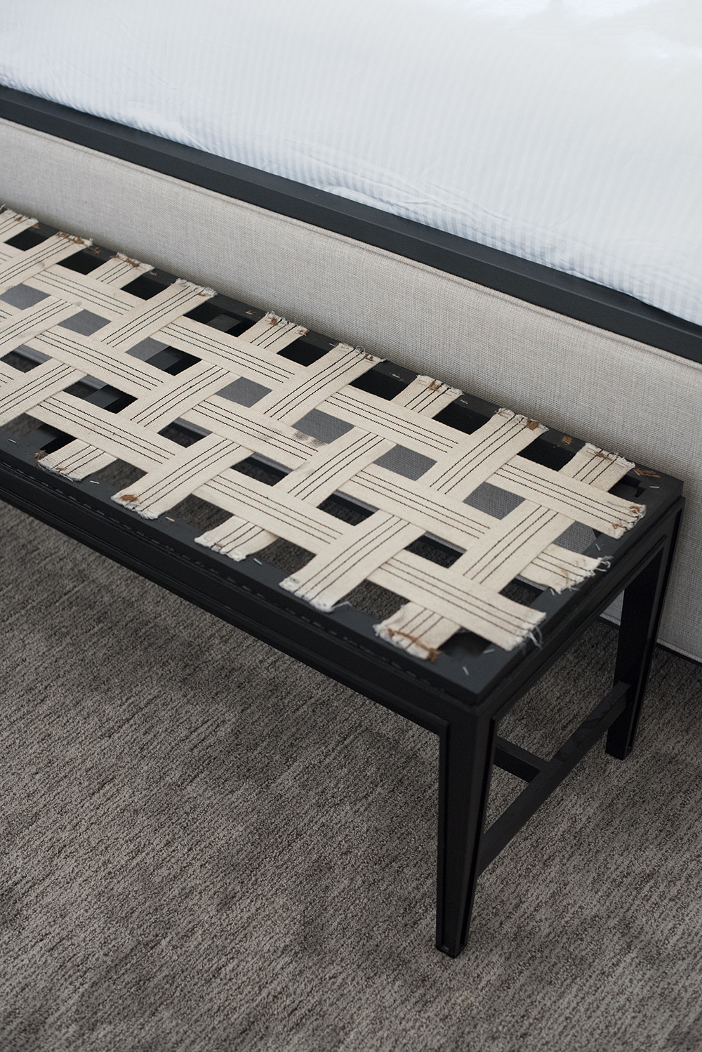 How to Upholster a Bench - roomfortuesday.com